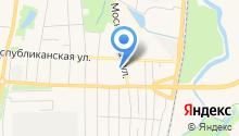 Государственный архив документации по личному составу Республики Мордовия на карте