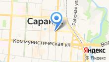 СРЕДНЕВОЛЖРЫБВОД, ФГУ на карте