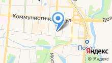 Барабас на карте