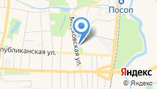 Мордовский республиканский объединенный краеведческий музей им. И.Д. Воронина на карте