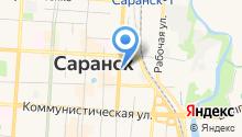 Визовый Центр Саранска на карте