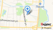 Жилкомбыт-1 на карте