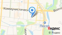ЗАГС Ленинского района на карте
