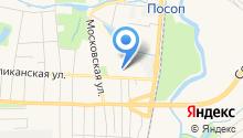 Айсберг РМ на карте