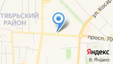Гримёрка на карте