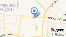 БАЛАНС на карте