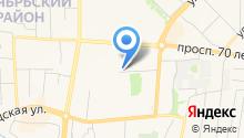 Альт на карте