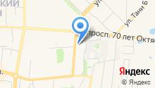 Главное управление МЧС России по Республике Мордовия на карте