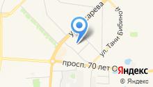Детская поликлиника №4 на карте
