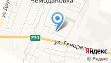 Чемодановская участковая больница на карте
