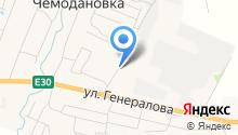 Танюша на карте