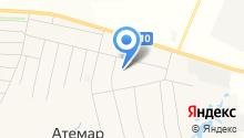 Атемарская средняя общеобразовательная школа на карте
