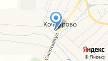 Кочкуровская детская школа искусств на карте