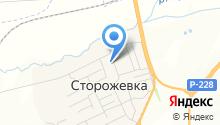 Детский сад с. Сторожёвка на карте
