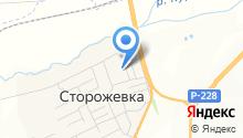 Продуктовый магазин в Свободном переулке на карте