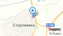 Алёнушка на карте