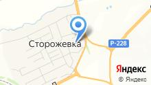 Средняя общеобразовательная школа с. Сторожёвка на карте