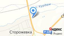 Шиномонтаж на карте