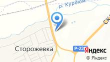 Лика-А на карте