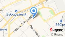 Brosko на карте