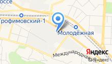 Гофрон на карте