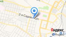 2-я Садовая, ТСЖ на карте