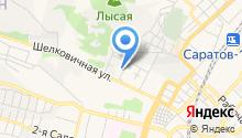 Саратовская городская служба спасения на карте