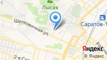 Саратовская городская служба спасения, МКУ на карте