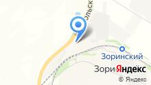 Максимовский на карте