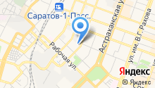 3 отряд ФПС Саратовской области, ФГКУ на карте