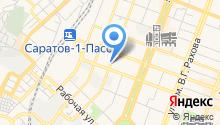 DNS на карте
