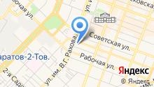 1С-БухОбслуживание. Онлайн на карте