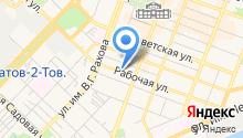 CNI-Саратов на карте