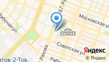 FoxExpress на карте