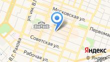 Служба подключения на карте