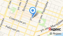 Central Perk на карте