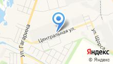 Газпромкомплект на карте