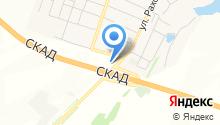 Шиномонтажная мастерская ул. Дубки пос на карте