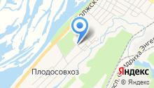 Волжский проспект на карте