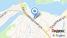 АЗС Торэко на карте