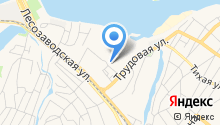 Автостоянка на Трудовой на карте