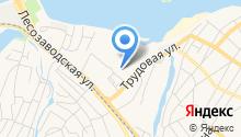 Адвокат Бондаренко В.В. на карте