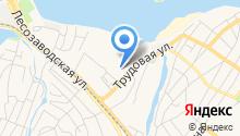 Бантик на карте