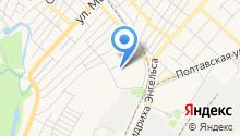 Автостоянка на ул. Урицкого (2-й микрорайон) на карте