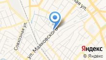 Горошинка на карте