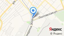 Автостоянка на проспекте Фридриха Энгельса на карте