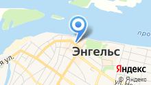 Банкомат, Почта Банк, ПАО, филиал в г. Саратове на карте