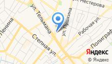 Баловень-НЕМО-Посуда на карте