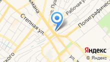 Автостоянка на Ростовской на карте