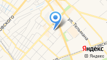 Детская городская поликлиника №2 на карте